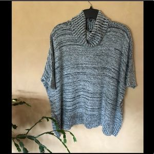Romeo and Juliet Couture cowl poncho sweater EUC